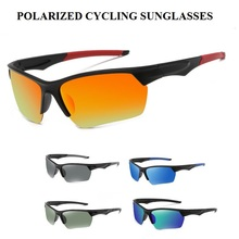 купить UV400 Polarized Men Road Bike Bicycle Sunglasses Eyewear Cycling Glasses Gafas Ciclismo Oculos Ciclismo Carretera Polarizado дешево
