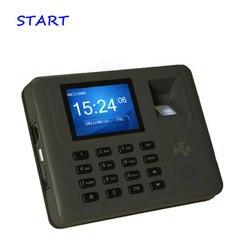 Système de surveillance du temps des empreintes digitales et des cartes Rfid Tcp/ip système de gestion du temps des empreintes digitales des employés enregistrement du temps