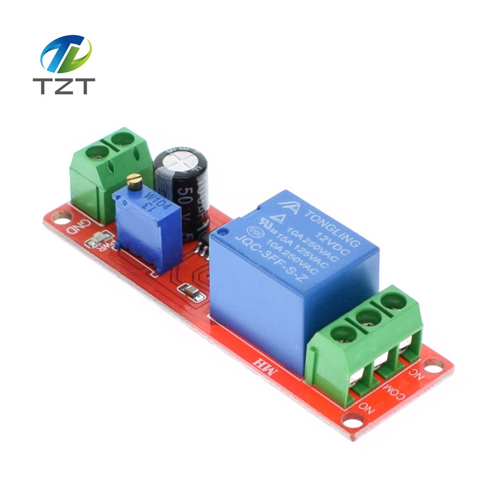 1pcs Ne555 Timer Switch Adjustable Module Time Delay Relay