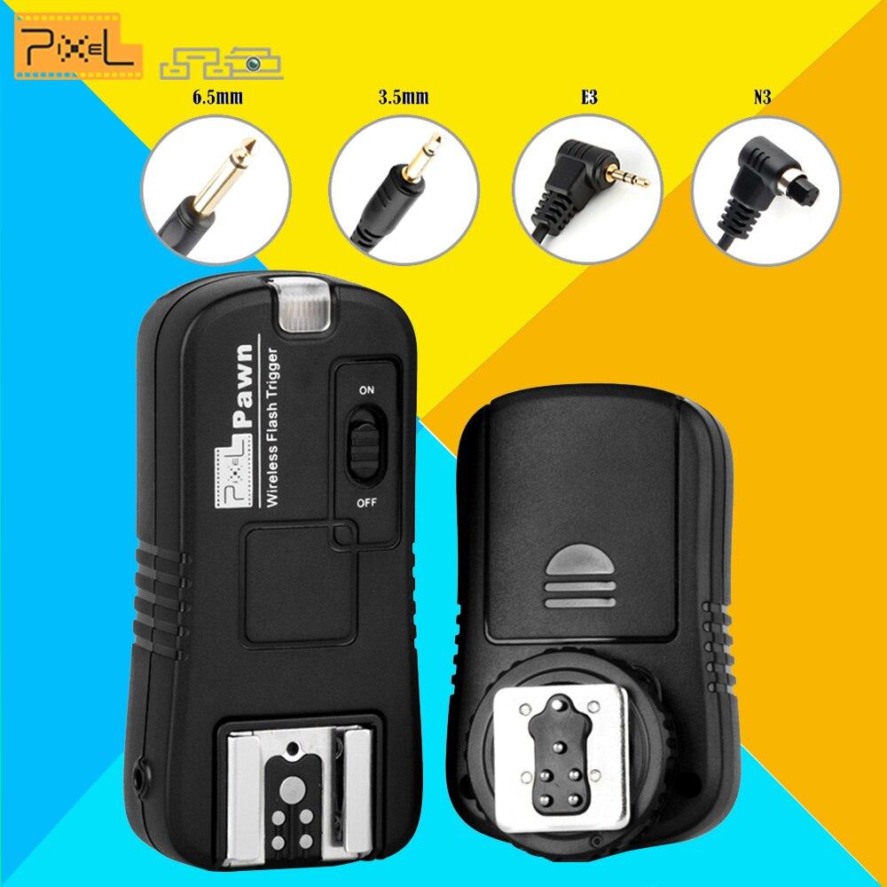 Per Canon 600D 60D 700D 5D3 6D Telecamere Senza Fili A Distanza controllo Flash Trigger Pixel TF-Per TR-586EX JY-680A YN560III YN560 IV