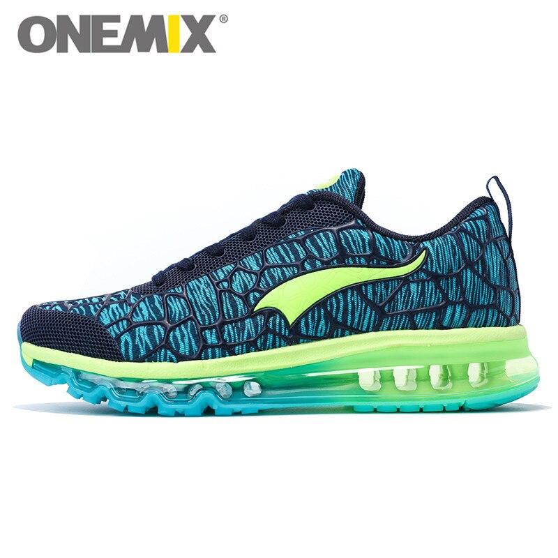 Onemix Новый Для мужчин воздуха, кроссовки для Для женщин бренд Обувь с дышащей сеткой Прогулки кроссовки спортивные спорта на открытом воздух...