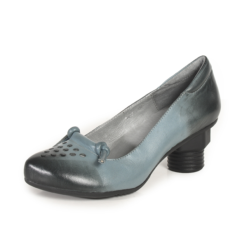 a5de524c42ce Xiangban Soft Leather Pumps Women Shoes Comfortable Black Blue Casual Pumps  Pointed Toe High Heels 2018 Spring Shoes-in Women s Pumps from Shoes on ...