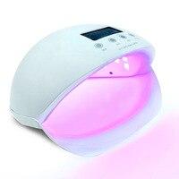 Nail Dryer For Nail Gel Polish Drying Curing Smart Sensor Manicure Nail Tools Red Blue lamp Sun5se 50W LED Nail lamp