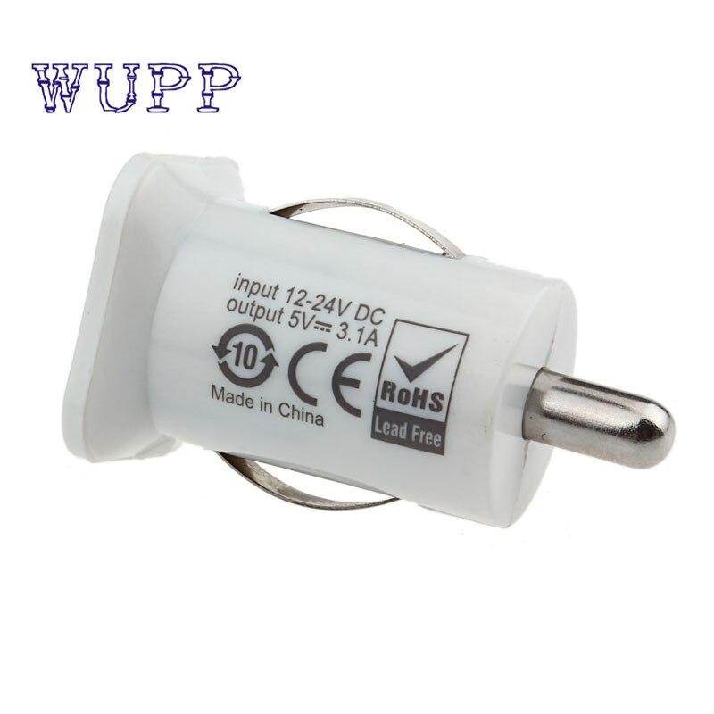 GPS Mobile Phone USB Charger Car Universal 12V To 5V 3.1A Power Adapter conveniente carregado cargador new quality 17july10