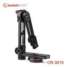 SUNWAYFOTO CR-3015 360 VR панорамная головка штатива, панорамная головка, подставка для камеры, панорамная головка для Manfrotto Benro