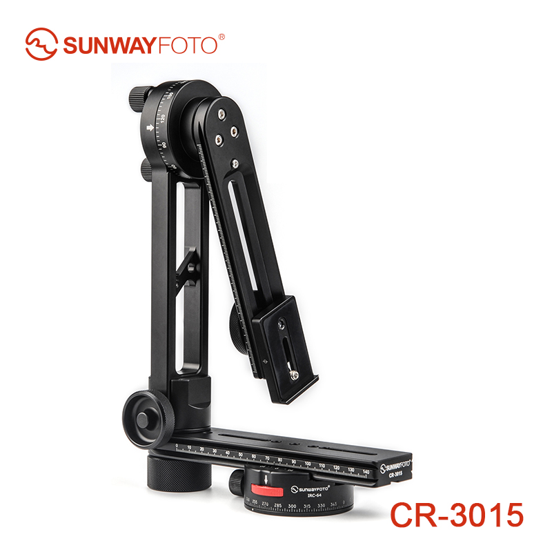 SUNWAYFOTO CR-3015 360 VR Panoramic Tripod Head Tripod Panoramic Head Camera Stand Panorama Head for Manfrotto Benro sunwayfoto indexing rotator ddp 64sx for panoramic head perfect for benro sirui manfrotto gitzo tripod href page 5