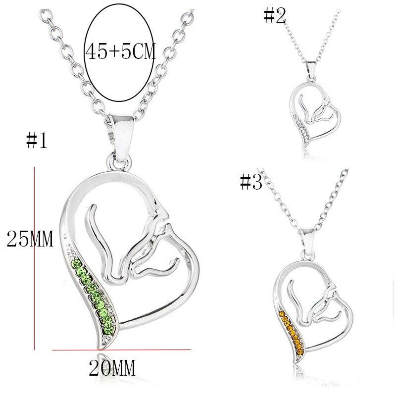 S925 Silver New Pattern Multicolor Rhinestone Necklace Ma'am Exquisite Pendeloque Cut Accessories Goods In Stock CHL589 erd boho