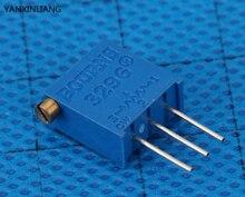 10 шт./лот 3296x-1-502lf 3296×502 5 k ом сторона регулировка многооборотный триммер потенциометр высокоточный переменный резистор