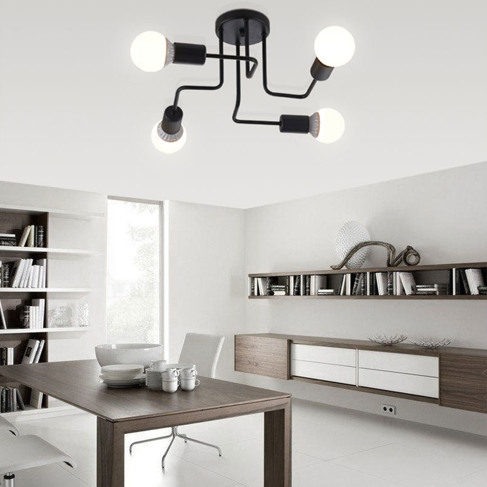 Ceiling Lights Vintage Lamps For Living Room Iluminacion Ceiling ...