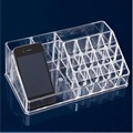 Free Shipping Clear Acrylic Cosmetic Makeup Case Holder Drawers Jewelry Storage Box Gift 2
