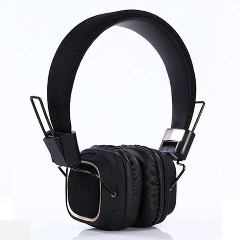 Gorsun Black Headset FM Radio Bluetooth Headphone Neckband Bluetooth Headset Gaming Wireless Headphones For Computer For xiaomi formula fm 504d 400w black