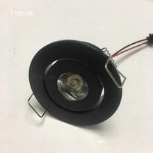 20pcs/lot  Mini LED Cabinet Spotlights DC12V CREE Recessed Spot light Diameter 52mm Include Led Driver
