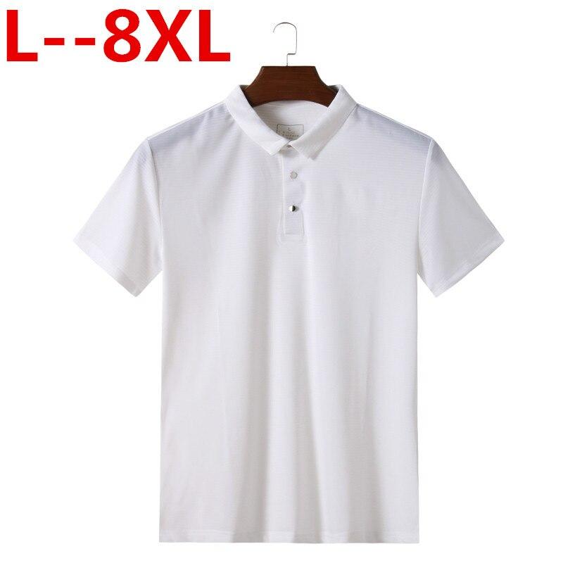 8XL 6XL 5XL 4XL hommes t-shirt court été personnalité décontracté Slim manches courtes poches t-shirt haut chemisier t-shirt slime livraison directe