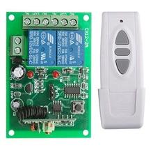 Controlador de interruptor remoto de Motor DC12V 24V 10A, interruptor de límite de botón de transmisor de pared Manual de marcha atrás hacia arriba y abajo