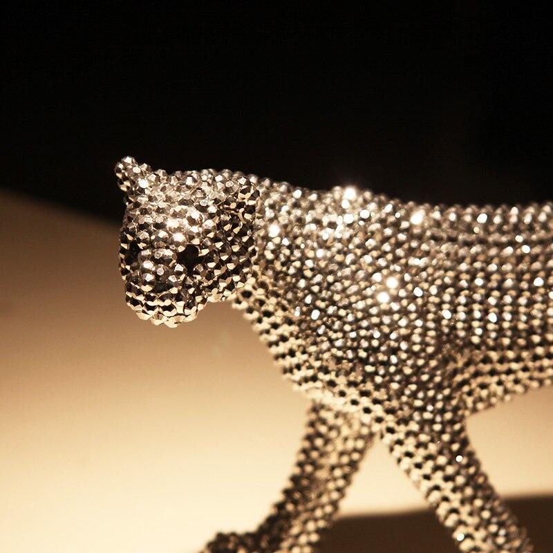 Керамика ремесла повезло слон украшения творческий современный домашний декор украшения Керамика фигурки животных фарфоровые статуэтки с... - 4