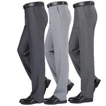Men's Pants Brand Evjsuse Business Trousers