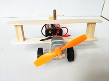 DIY Wind Power Plane Model