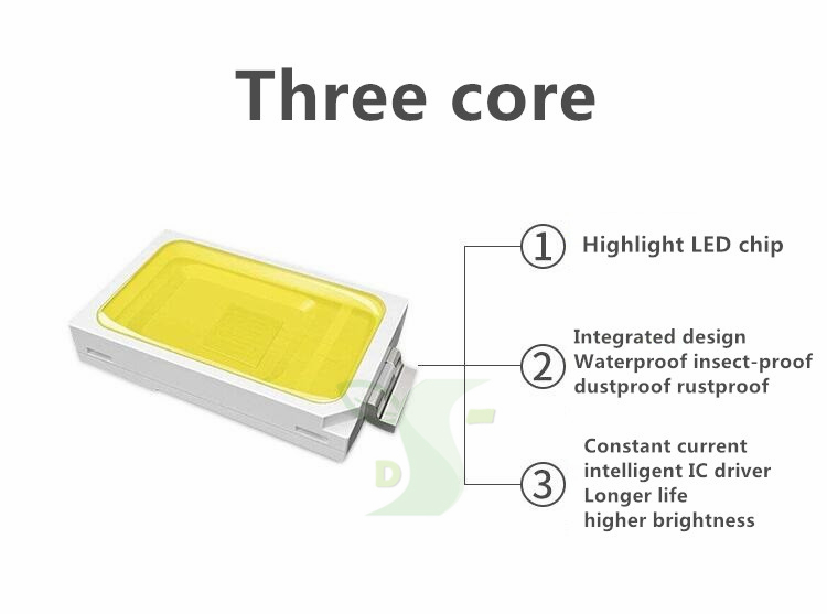 GBKOF 20w 40w 60w LED solar street light Outdoor Waterproof IP65 PIR sensor Smart light changes led light 50mm interface (15)