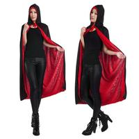 Hot Sale Hooded Cloak Coat Wicca Robe Medieval Cape WIth Cap Shawl Halloween Party