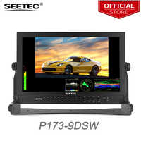 Seetec P173-9DSW 17.3 Inch FHD 1920x1080 Broadcast Monitor with 3G-SDI HDMI Waveform Vector Scope LCD Director Monitor