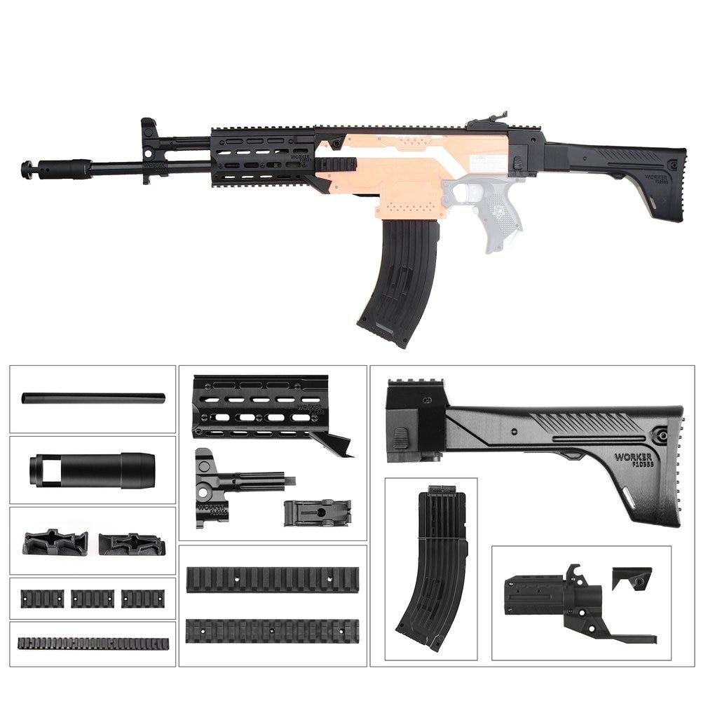 TRAVAILLEUR 3D Impression Modulariser Mod F10555 3D Impression AK Style Module B Combo 12 Articles pour Nerf Stryfe Meilleur Cadeau pour le Joueur De Jeu