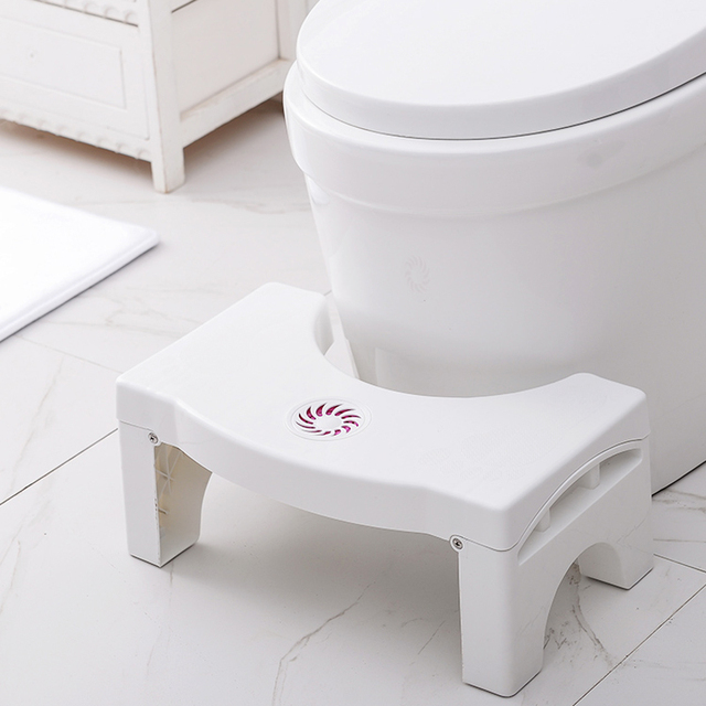 Home Folding Squatting Stool Bathroom Squat Toilet Stool Compact Squatty Potty Stool Portable Step Seat for Home Bathroom Toilet 1