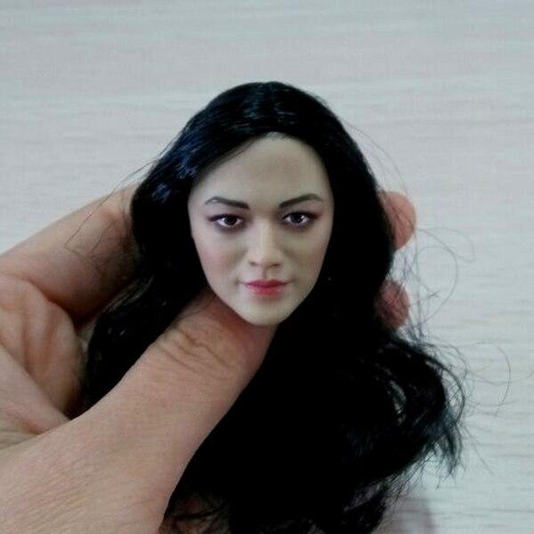 Custom 1/6 Scale Asian Female Head Sculpt Similar to Star Yao Chen Headplay For 12 inches PH Action Figure книги эксмо белый пудель лучшие повести и рассказы о животных