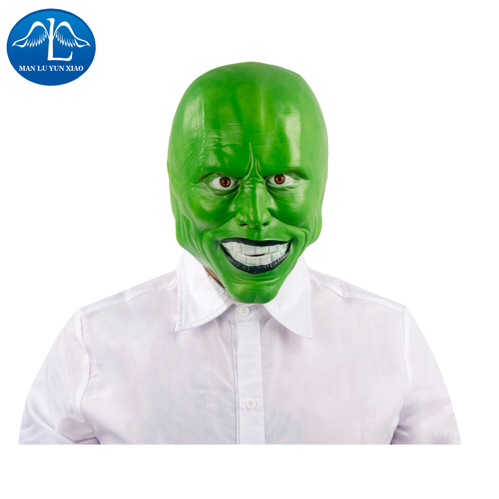 MANLUYUNXIAO Halloween Cosplay Zenomorph Mask Full Head Mask Latex Mask Adult Man Cosplay For Halloween Wholesale