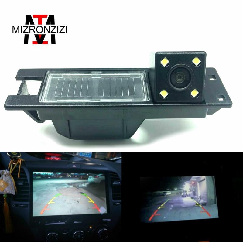 MIZRONZIZ HD CCD Night Vision Reverse Car Rear View Camera For OPEL Vectra C Astra H J/Corsa D/Meriva A/Zafira B For FIAT Grande