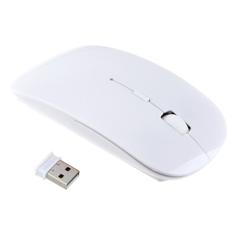 2.4Ghz Receiver USB Optical Wireless Optical PC Mouse with USB Adapter 1600 DPI Super Slim Ergonomic Mice For Computer Laptop
