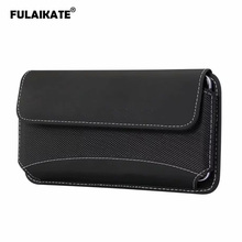 FULAIKATE Durable Cloth Waist Bag for iPhone Xs Max X 8Plus 4.7 to 6.9 Universal Phone Pouch Huawei Mate 20 Honor 8X