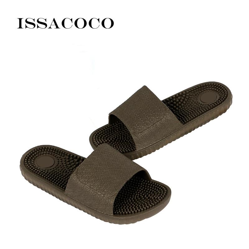 ISSACOCO 2018 Cipele Muškarci Papule Sandale Unutarnja Kućna - Muške cipele - Foto 4