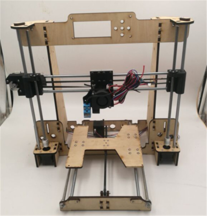 Funssor 1set Reprap i3 Anet A8 /Hesine M505 /Tronxy 3D Printer clone Frame mechanical kit  6mm NEMA17 motor new anet e10 e12 3d printer diy kit aluminum frame multi language large printing size high precision reprap i3 with filament