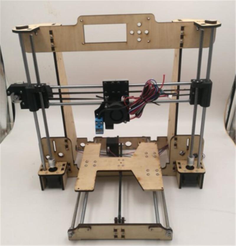 Funssor 1set Reprap i3 Anet A8 /Hesine M505 /Tronxy 3D Printer clone Frame mechanical kit  6mm NEMA17 motor anet auto leveling a8 impresora 3d printer diy kit big size imprimante 3d reprap i3 aluminum heatbed with filament sd card