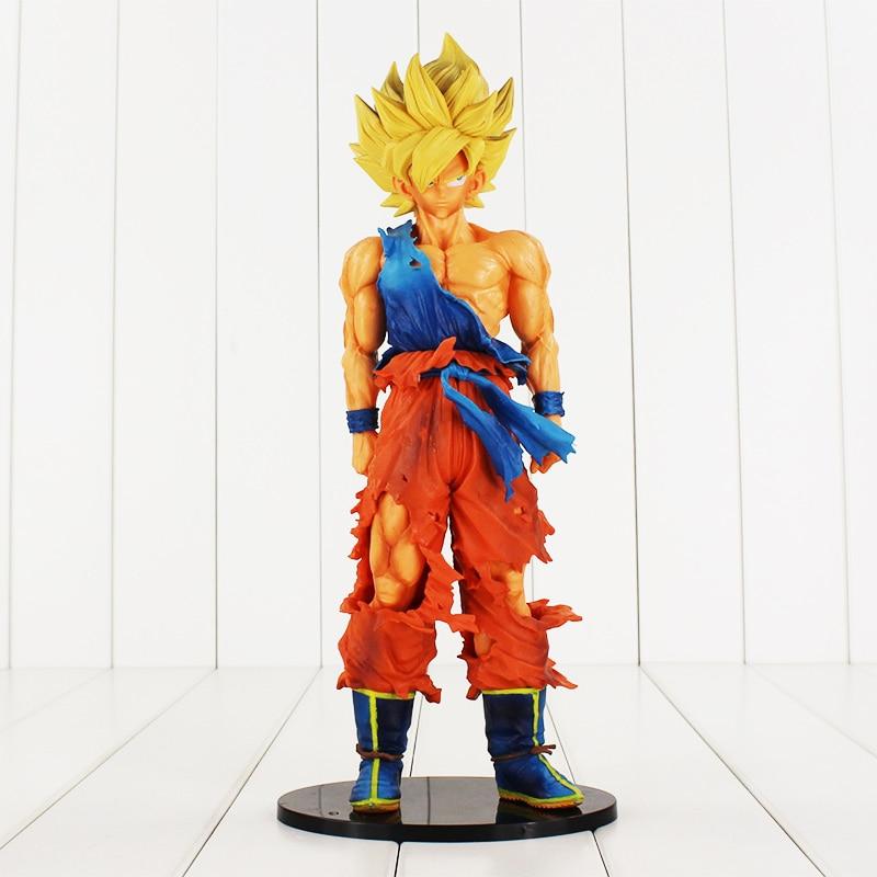 35cm Dragon Ball Z Big Size Sun Goku Super Saiyan PVC Action Figure Collectible Model Toy Doll Birthday Gift juguetes new hot christmas gift 21inch 52cm bearbrick be rbrick fashion toy pvc action figure collectible model toy decoration
