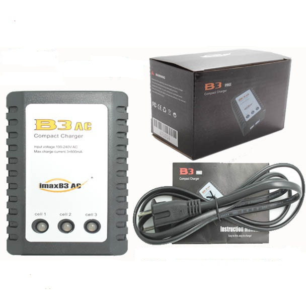 IMAX RC B3AC 2s, 3s 7.4 V 11.1 V lithium electricity balance charger for rc lipo  free shipping