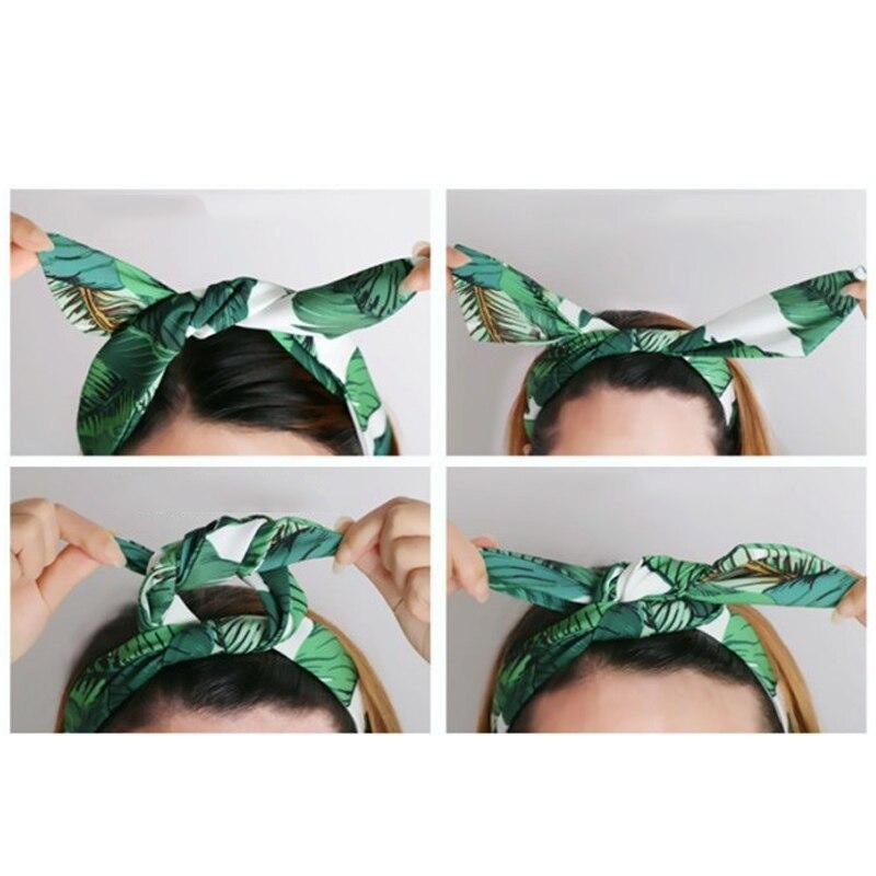 Sale Women Floral Hair Bands Cloth Headbands Ornaments Hairbands Headwear Fashion Hair Accessories Wholesale