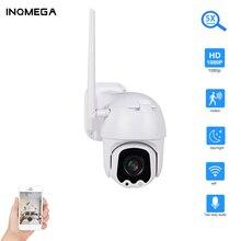 INQMEGA 5X Zoom  PTZ IP Camara 1080P Outdoor Wifi Security Camera IR 60m Two Way Audio Network CCTV Surveill