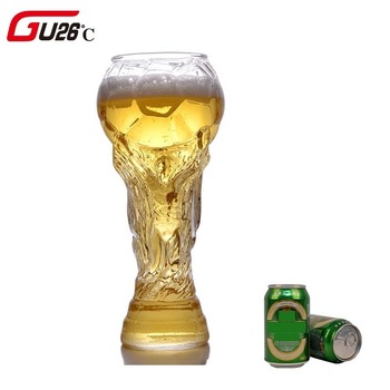 Creative 2018 Football Mugs Bar Glass 450ml Wine Glasses Whiskey Beer Goblet Juice Cup High Borosilicate Glass Cup