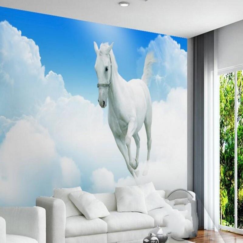 Beibehang grande personalizado piso azul nuvens acima das nuvens beibehang grande personalizado piso azul nuvens acima das nuvens brancas voando branco moderno simples papel de parede decorao em papis de parede de thecheapjerseys Choice Image