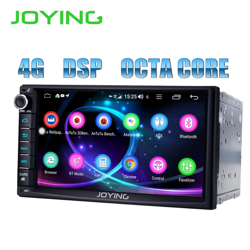 JOYING 2 Din Android 8 1 0 Car Radio Autoradio 7 4GB 64GB GPS Navi Octa
