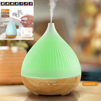 2watt USB Alexa Compatible Smart Essential Oil Diffuser 300ml Humidifier Smart Phone Tablets APP Control Ultrasonic