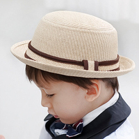 Hat Wholesale Boys And Girls Woven Cotton Straw Hat Jazz Caps Hats Caps Baby Hats
