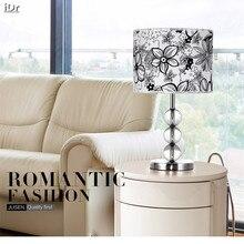 Современный минималистский моды кристалла украшения ночники спальня гостиная лампы освещения свет Стол wwy-0014