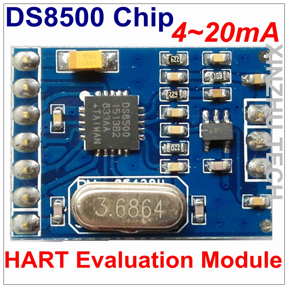 new arrival hart host module with ttl serial port output for hartnew arrival hart evaluation module ds8500 hart modem module for circuit evaluation with hart protocol