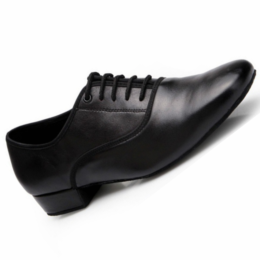 Genuine Leather Modern Dance Shoes Sneakers For Men Boys Students Soft Sole Practice Ballroom Dancing Shoes Latin Dance Shoes effects of dams on river water quality
