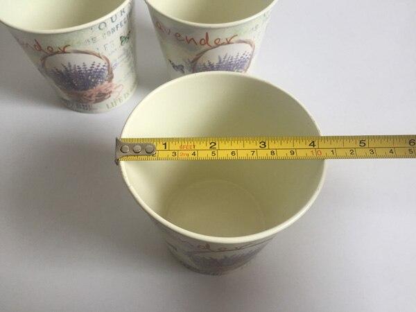 Image 4 - 10Pcs/Lot D10.5xH10CM Round Mini Vase Metal Table centrepieces Lavender Design Flowerpot Flower pots Planters SF 067-in Flower Pots & Planters from Home & Garden