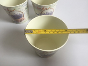 Image 4 - 6Pcs/Lot D10.5xH10CM Round Mini Vase Metal Table Centrepieces Lavender Design Flowerpot Flower pots SF 067