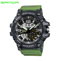 2017 SANDA Military Sport Watch Men Waterproof Watch For Mens Watches Top Brand Luxury Clock Camping