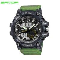 2017 SANDA Military Sport Watch Men Waterproof Watch For Mens Watches Top Brand Luxury Clock Camping